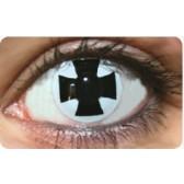 Funky Lens Black Cross
