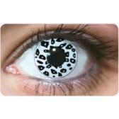 Funky Lens Leopard White