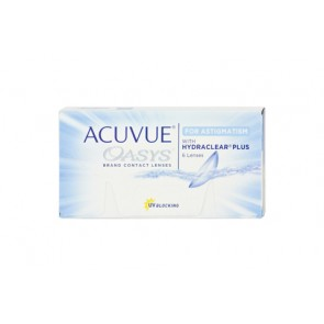 Johnson & Johnson Acuvue Oasys for Astigmatism 1 x 6