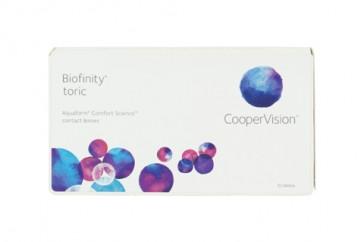 CooperVision Biofinity Toric 1 x 6