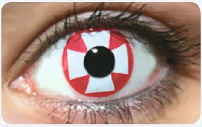 Funky Lens Red Cross
