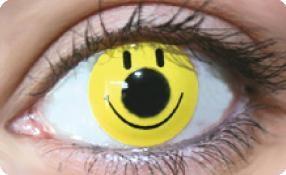 Funky Lens Smiley