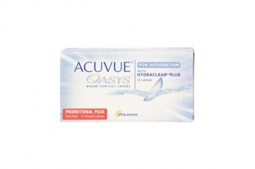 Johnson & Johnson Acuvue Oasys for Astigmatism 1 x 12