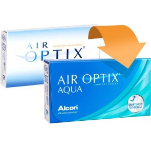 Alcon Air Optix Aqua 1x6