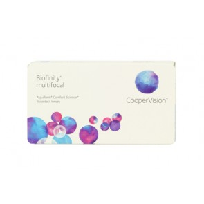 CooperVision Biofinity Multifocal 1 x 6